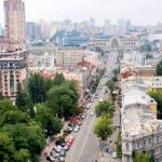 ウクライナ 古都キエフの街並①