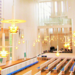 世界の教会の旅 フィンランド(1) ミュールマキ教会・教区センター Myyrmaki Church and Parish Center