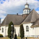 世界の教会の旅 フィンランド (2) イルマヨキ教会 (Ilmayoki Church)