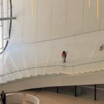 アゼルバイジャン・バクー ヘイダル・アリエフ文化センター《中》内観