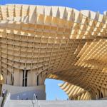 世界の旅 Metropol Parasol 世界最大木造 メトロポールパラソル(上) 場所 スペイン・セビリア Pl. de la Encarnación, s/n, 41003 Sevilla