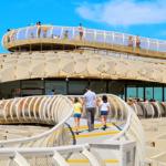 世界の旅 Metropol Parasol 世界最大木造 メトロポールパラソル(下) 場所 スペイン・セビリア Pl. de la Encarnación, s/n, 41003 Sevilla
