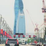Azerbaijan (8-1) Baku Street アゼルバイジャン ⑧ バクー街並み A