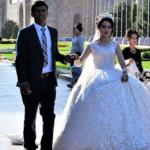 ウズベキスタン サマルカンドのレギスタン広場