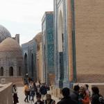 ウズベキスタン サマルカンドのシャーヒズィンダ廟群