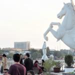 タジキスタン 第2の都市ホジェンドのパーリアメントホテル